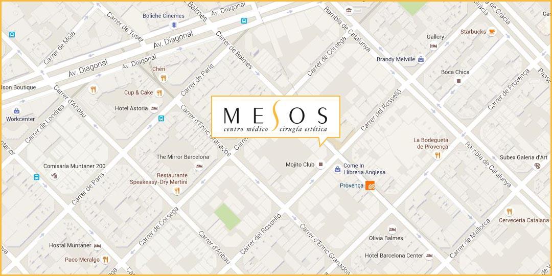 Mesos. Calle Balmes 133 1º 2ª, 08008 Barcelona